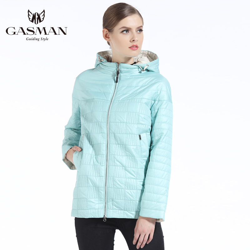 GASMAN 2019 Spring Autumn Women Coat Fashion Brand Women Jacket Autumn Women Jackets And Coats   Parka   For Women Plus Size 5XL 4XL