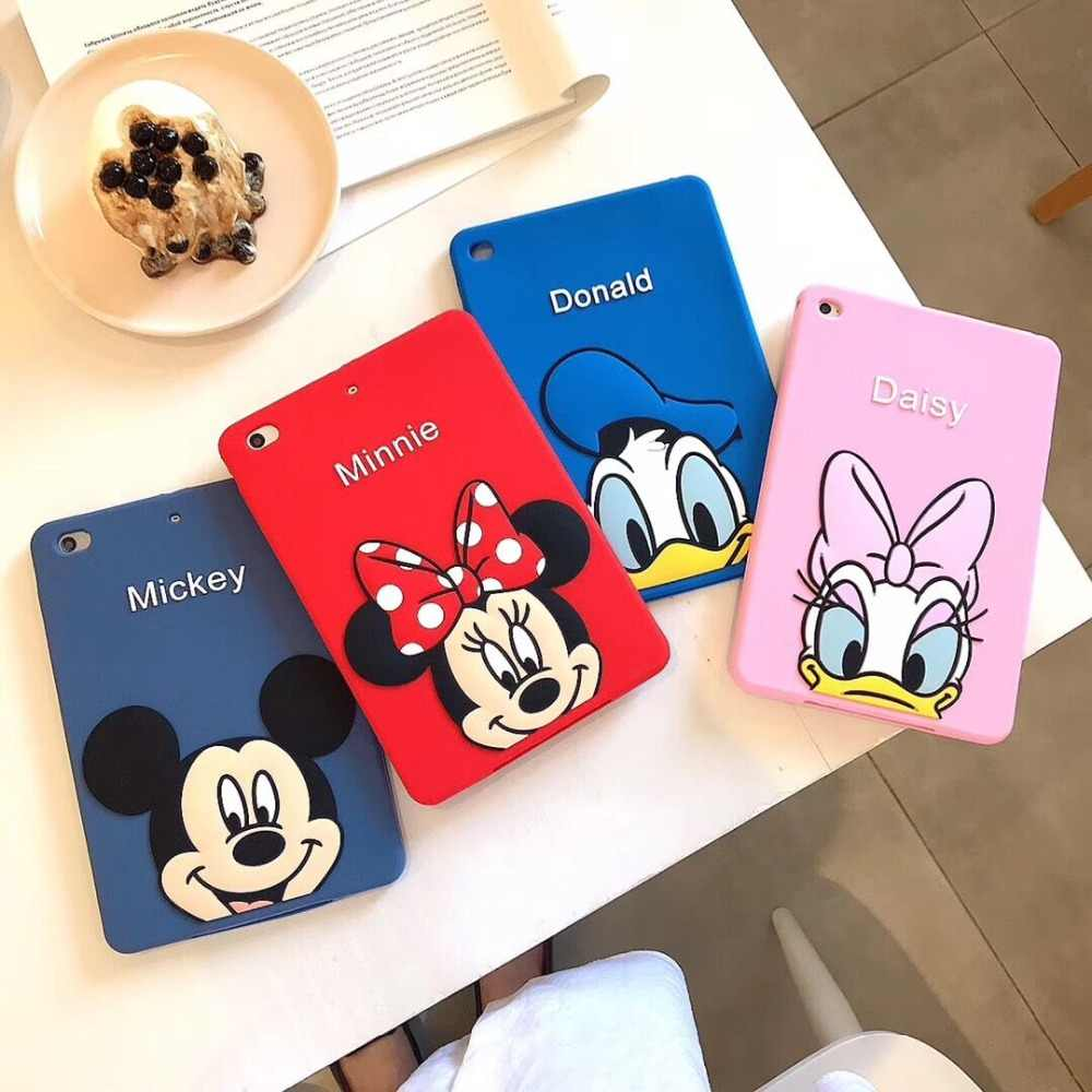 "Shockproof Case for iPad Mini 1 2 3 4 7.9"" Cartoon Stand Tablet Cover for New 2019 iPad Mini 5 Kids Safe Cases+pen"