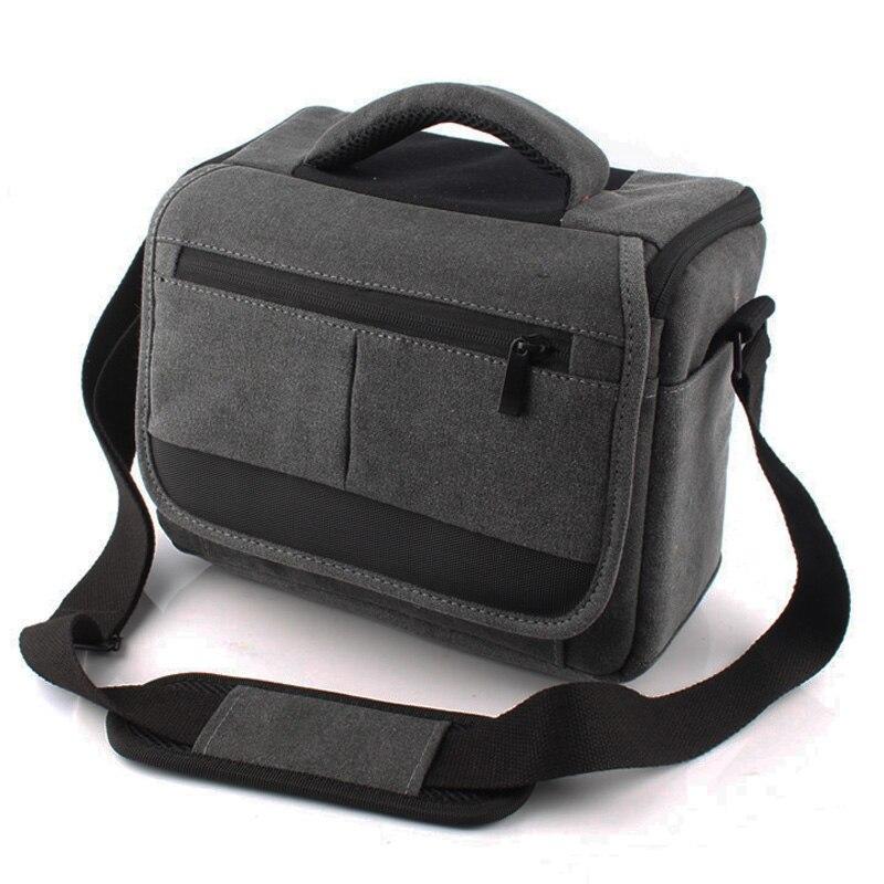 Canvas DSLR Camera Bag Case For Nikon D3400 D3100 D3200 D3300 D5000 D5100 D5200 D5300 D70S D810 D80 D90 D7200 D7000 D7100 D300S
