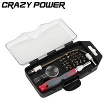 CRAZY POWER 33 In 1 Precision Repair Opening Tool Professional Screwdriver Kit five + – star shape for iPhone PC Laptop AT2049