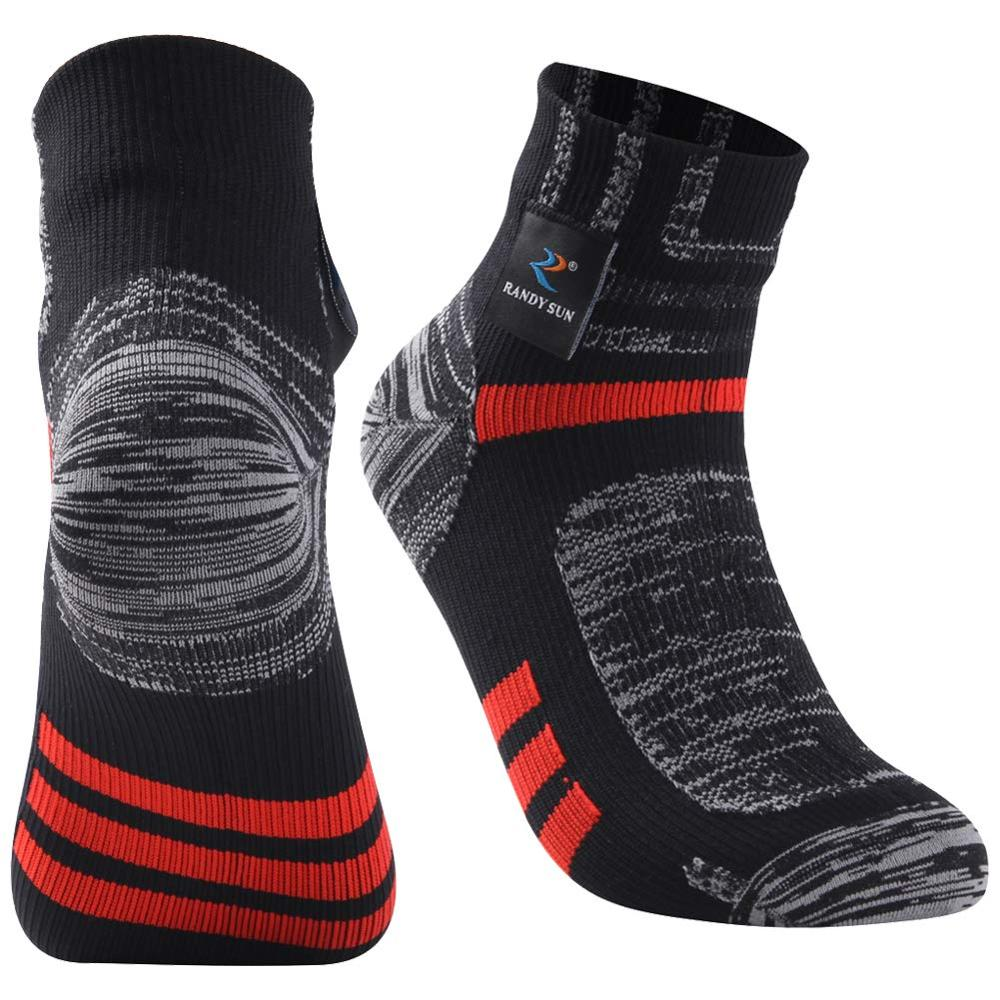 Image 4 - RANDY SUN Ankle Waterproof Sports Socks Breathable Windproof SGS Certified Outdoor Hiking Climbing Fishing Cycling Socks 1 PairCycling Socks   -