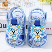 2017 Summer prewalker 1 Pair Antiskid Soft Sole Shoes Sandals New Baby Girl Boy Kid Shoes Toddler Shoes Baby Fashion Sandals