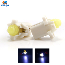 Free Shipping 50pcs/lot B8.3D COB 1 SMD Led Bulbs Interior Light Dashboard Lights Side Indicator Reading Lamp 12V