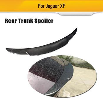 Auto Kofferbak Wing Lip Spoiler voor Jaguar XF XFL Standaard 2016-2019 Niet voor Sportbrake Carbon Fiber Boot lip Spoiler