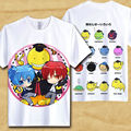 Assassination Classroom T-Shirt Ansatsu Kyoushitsu Short Sleeve Mens Tee Shirt Korosensei SAAUSO Magic Printed Anime clothes