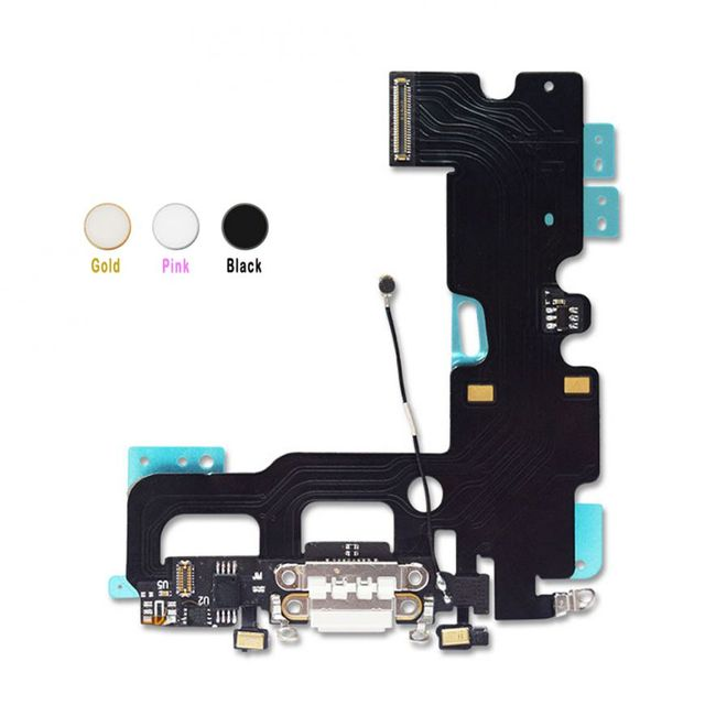 huge discount 1a9e4 1deab US $42.9 |Home Button Fingerprint Repair Flex Cable USB Charging Dock Flex  Cable For IPhone 7 7Plus free shipping -in Mobile Phone Flex Cables from ...