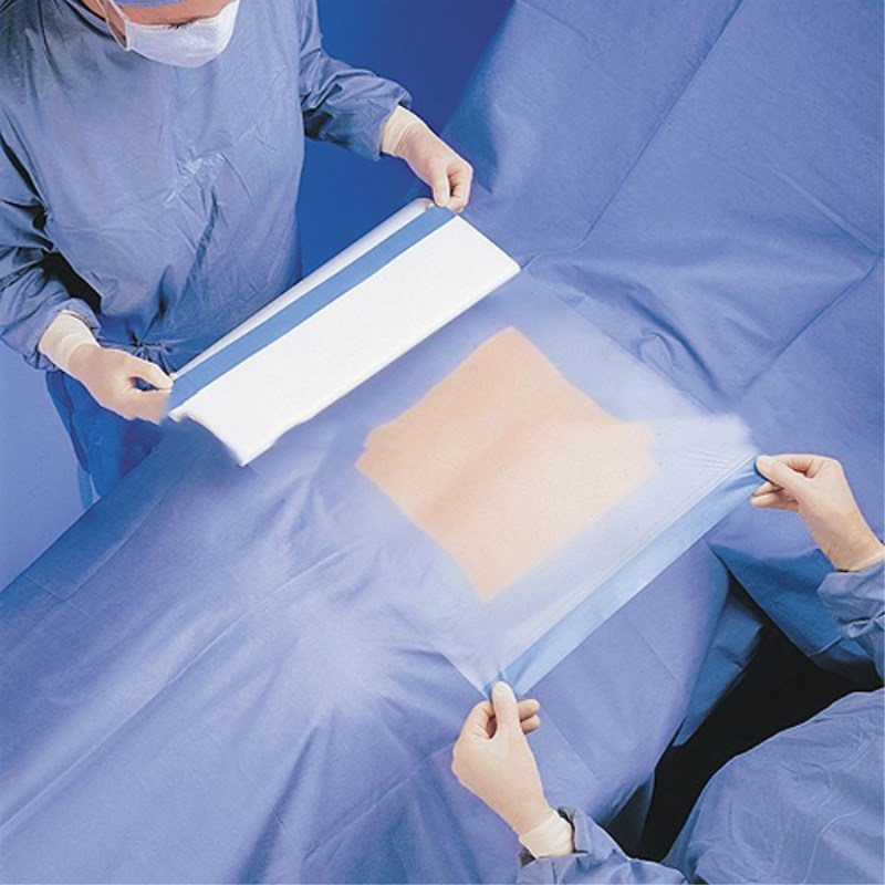 25Pcs 30x40cm/30x45cm/40x50cm/45x45cm Medical Adhesive Film Paste Operation Towel Disposable Surgical Pu Film Protective