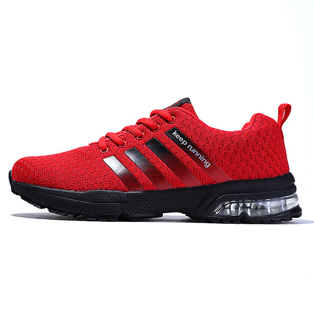 2018 New est Running Shoes for Men Breathable Outdoor Sport Trainers  Sneakers Spring Cushioning Male Shockproof 429d1aa26742
