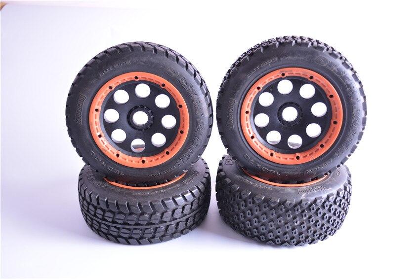 Ensemble de roue tout-terrain résistant à l'usure haute résistance pour adaptateur 24mm Buggy HPI KM Rovan BAJA 5 T 5SC