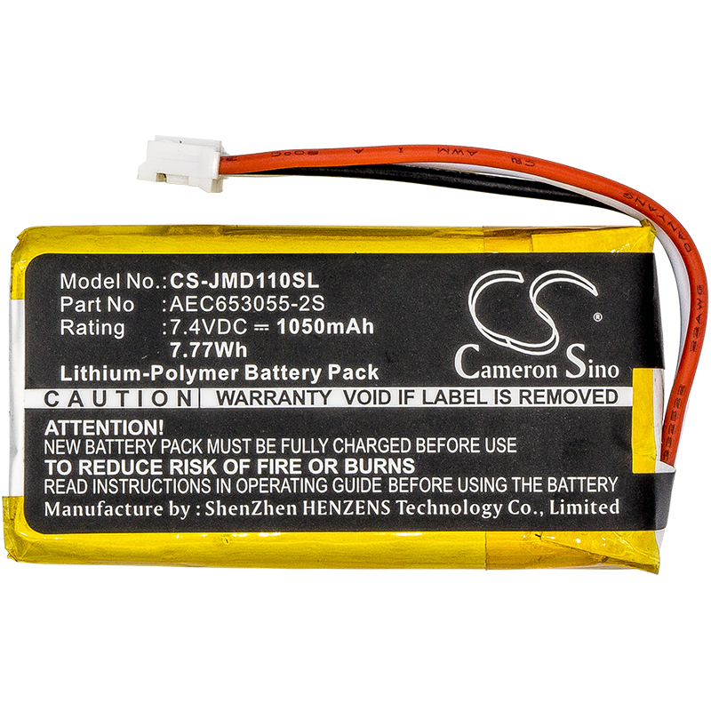 AEC653055-2S аккумулятора Cameron Sino 1050mAh для JBL Flip 1