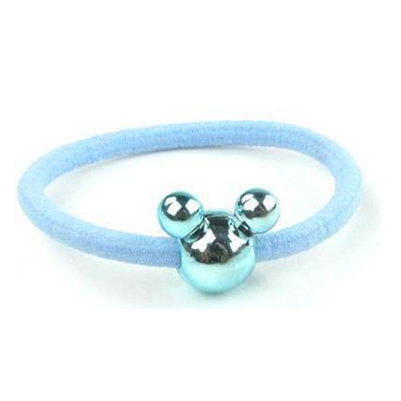 Apparel Accessories Women Hair Ropes Big Mickey Hair Rope Korean Version Of Jewelry Wholesale Super Cute Hair Ring Cartoon Candy Color Rubber Band Street Price