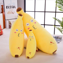 Emulate Banana Short Plush Toy PP Cotton Stuffed Toys Soft Pillow Children & Friends Birthday Gift