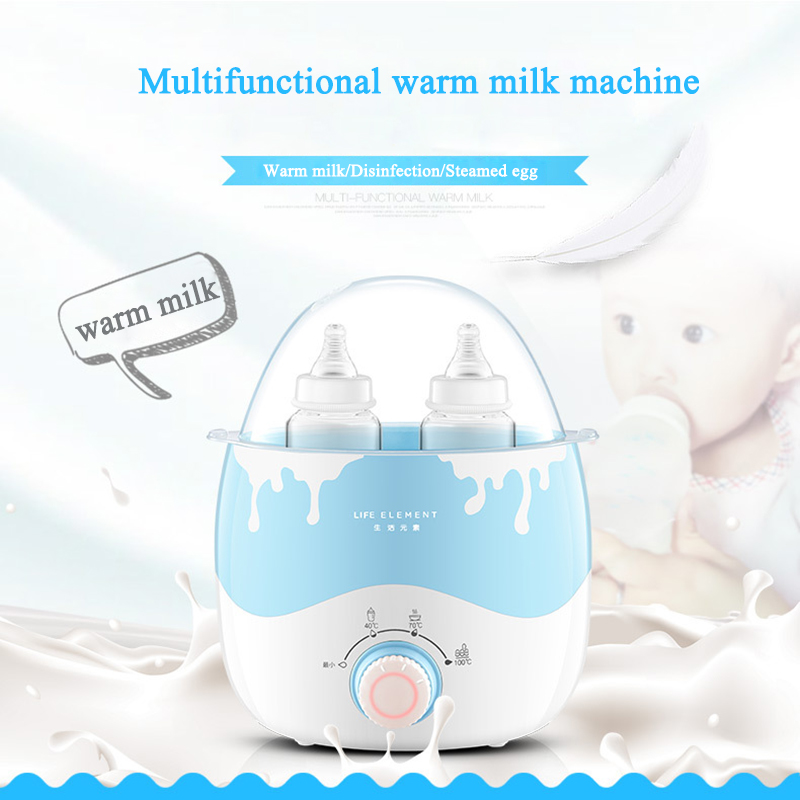 220V Multifunction Baby Bottle Warmer Milk Food Heater Steam Sterilizer Thermostat Heating Bottle Warmer Hot Milk constant temperature heat insulation double milk bottle sterilizer multifunction baby bottle warmer