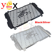Black/Silver Motorcycle Grille Radiator Cover Guard Protector Protection Coolant System Net For KAWASAKI Z900 Z 900 2017 2018