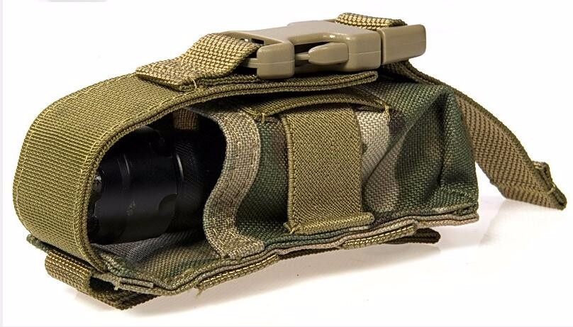 Sports & Entertainment Sports Bags Flyye Molle Waterproof Nylon Universal Tool Pouch Flashlight Pouch Military Cordura C033
