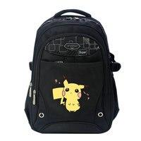 Anime Pokemon Pikachu Kieszonkowy Potwór Szkoła Torba Plecak mochila Torby Plecaki Szkolne Dziewczyny Chłopcy Malucha Dzieci Książki Torby