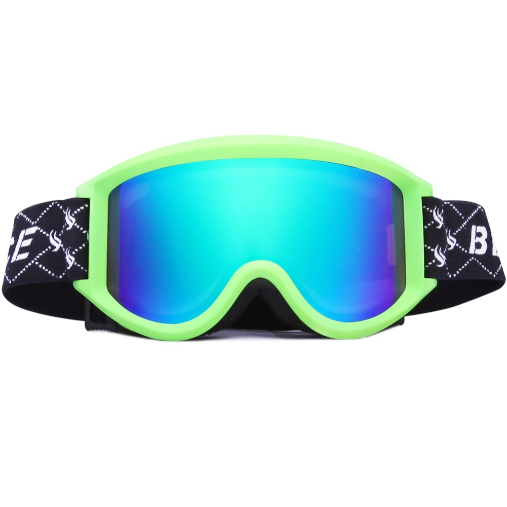 Benice Skiing Snowboarding Motorcycle Cycling and Snowmobile Winter Outdoor Sports Protective Ski Goggle SN-1200