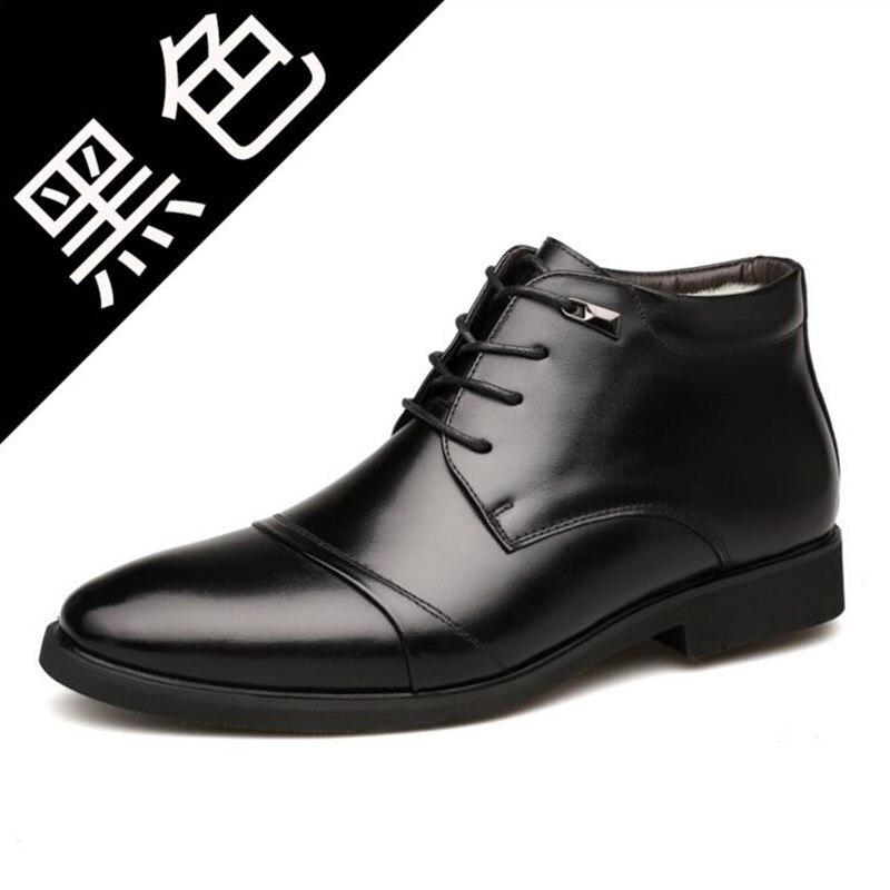 Nice Robe Pour brown Solide Mode Lacets Pointu Noir Black En Hommes Mâle Cuir Oxford Chaussures À Bureau De Nouveau Bout vmwN0n8