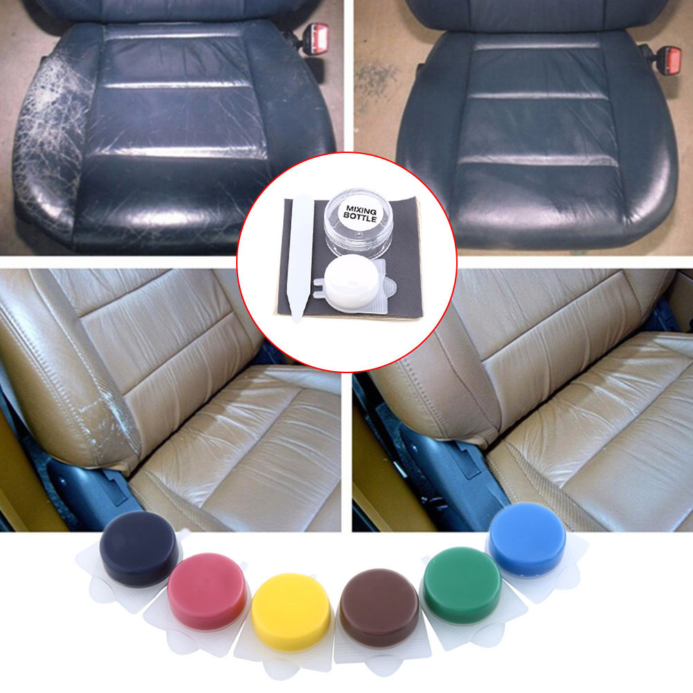 Car Polishes Paint Care Automotive Leather Repair Tool Kit Auto Seat ...