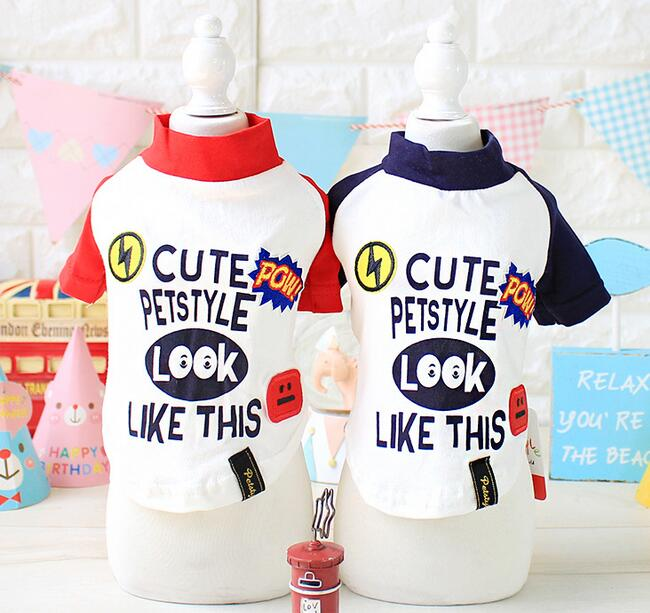 1pcs dogs cats fashion Subsidies splicing sleeve hoodies clothes doggy autumn winter sweatershirts costume puppy sweaters XS-XL