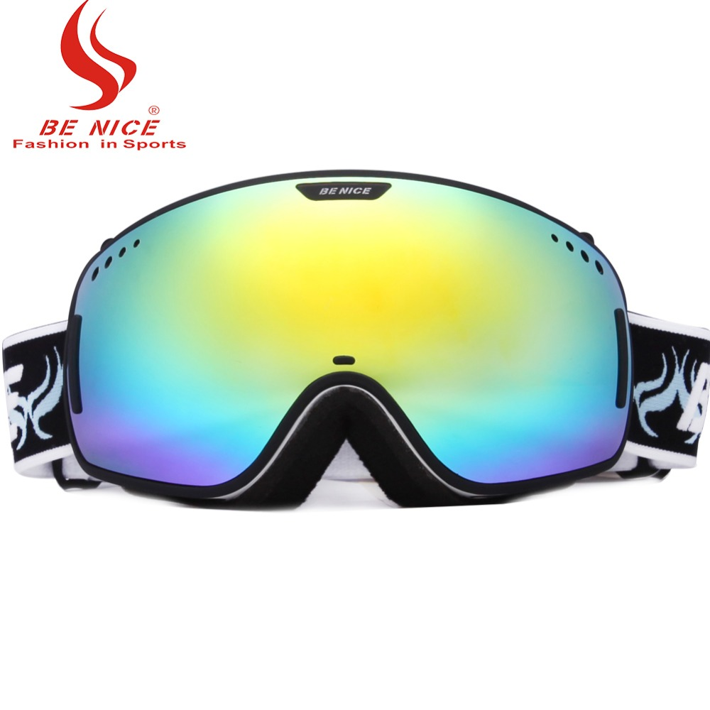 1dd3393ae35 Professional Ski Goggles OTG Anti fog Windproof UV Protection Snowboard  Goggles with Double Spherical Lens for Skiing Snow Skate-in Skiing Eyewear  from ...