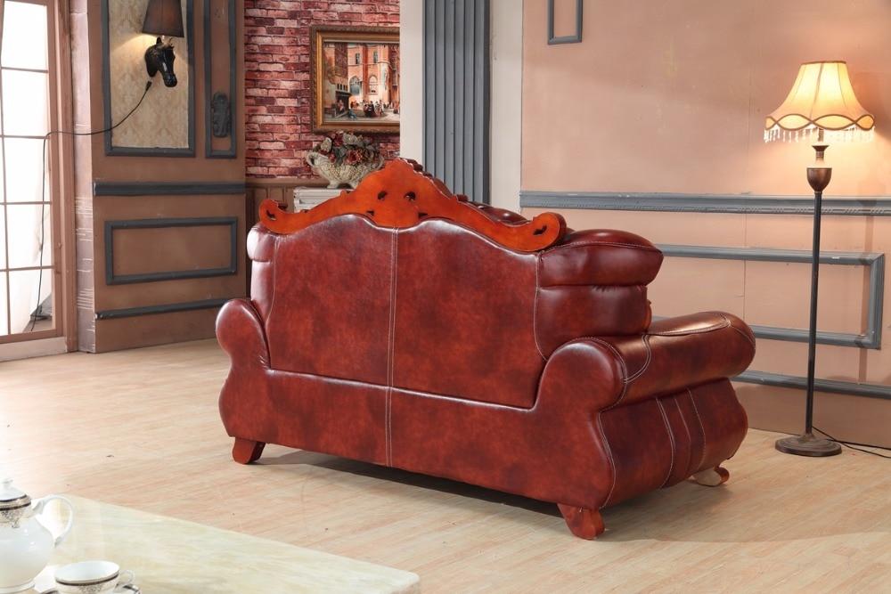 Aliexpress Luxus Europischen Ledercouchgarnitur Wohnzimmer Sofa China Holzrahmen Sofagarnitur 1 2 3 Von Verlsslichen European Leather