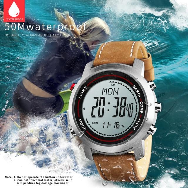 Bozlun Men's Fashion Leather Sports Watch - MG03 1