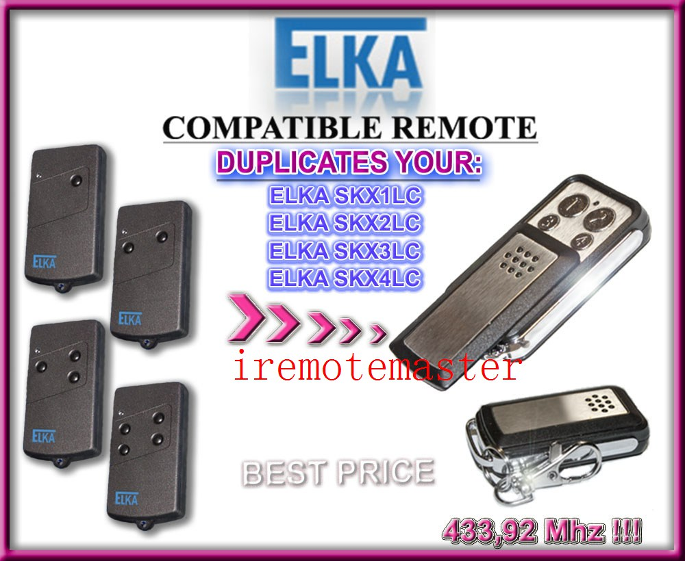 RüCksichtsvoll Elka Skx1lc Skx3lc Skx2lc Skx4lc Kompatibel Fernbedienung Klon