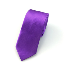 Solid Color Polyester Ties For Men – Many Colors To Choose From