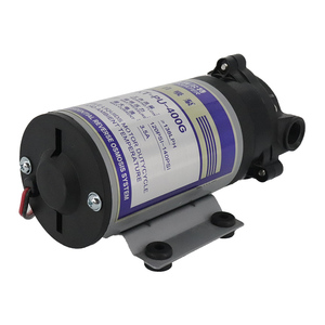 Image 2 - 75 400 gpd 24v Water Booster Diaphragm pump Natural pressure vacuum water filter parts for residential reverse osmosis system