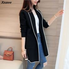 Xnxee 2018 Sweater Womens Cardigan Spring And Autumn Thin Section Wild Slim Long Sleeve Ladies Korean Windbreaker