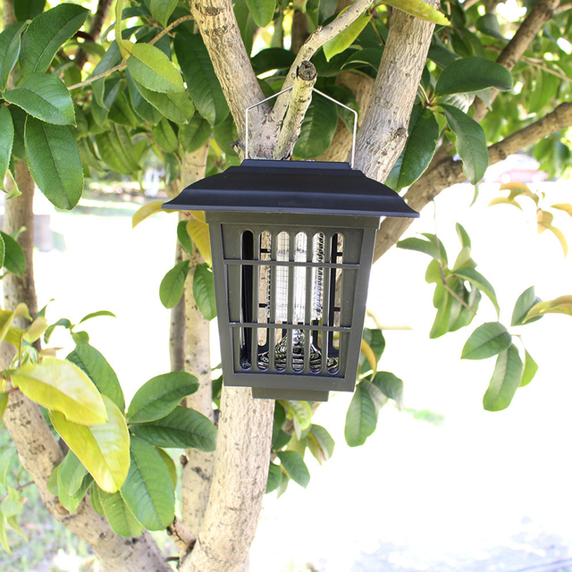 Solar Insect Pest Bug Mosquito Killer Zapper Lamp Garden Lawn Light Mosquito Killer Water-proof Zapper Lamp Garden Lawn Light 3