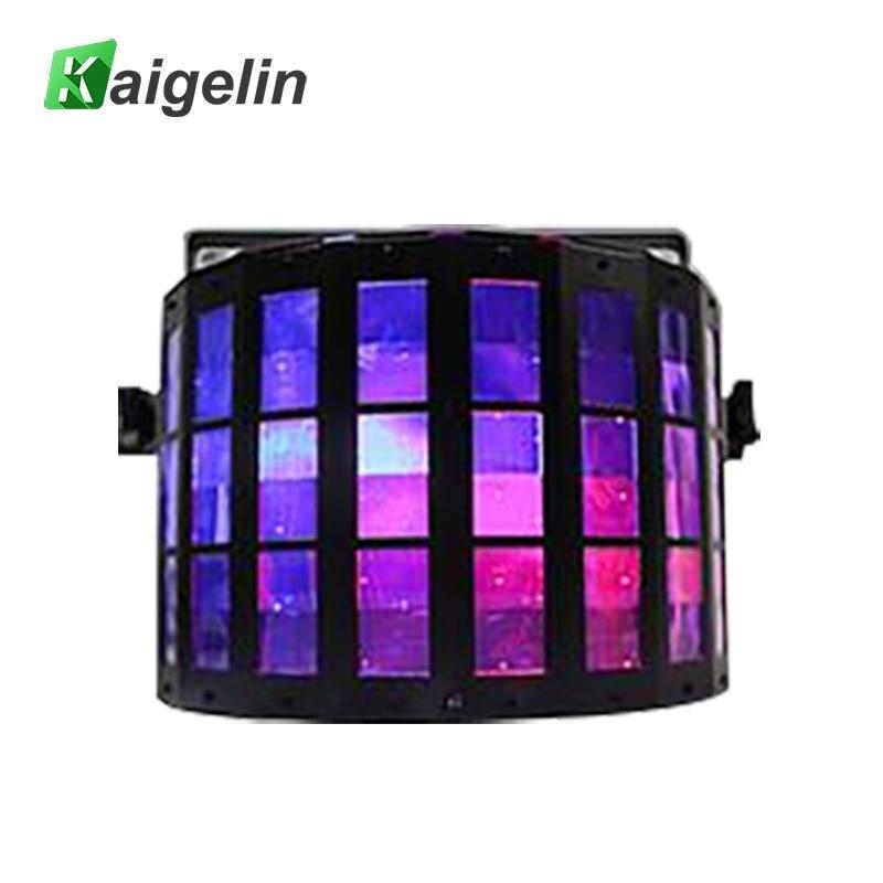 Kaigelin Laser Disco Lamp US/EU/UK/AU Plug DJ LED Disco Lights 13W Colorful Stage Lighting Dance Laser Party