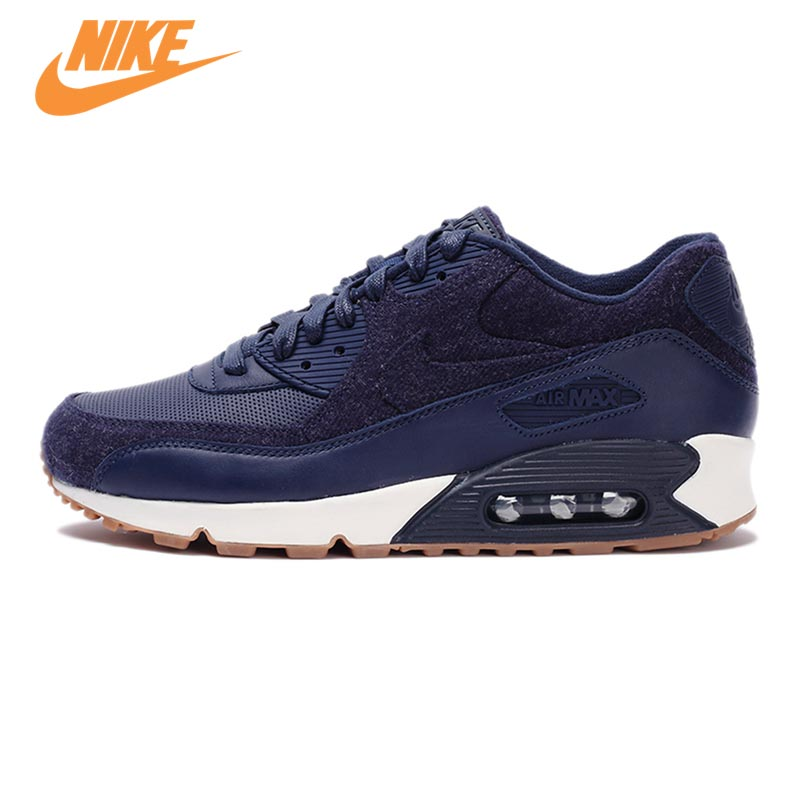 Original New Arrival Official NIKE Men's AIR MAX 90 ESSENTIAL Breathable Running Shoes Sneakers Trainers original new arrival authentic nike air max 90 ultra 2 0 men s breathable running shoes sneakers trainers outdoor athletic