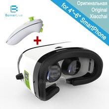 Bobovr z3บลูทูธควบคุม3d vrแว่นตาหมวกกันน็อกความเป็นจริงเสมือนgoogleกระดาษแข็ง3dแก้วvrกล่องสำหรับมาร์ทโฟน