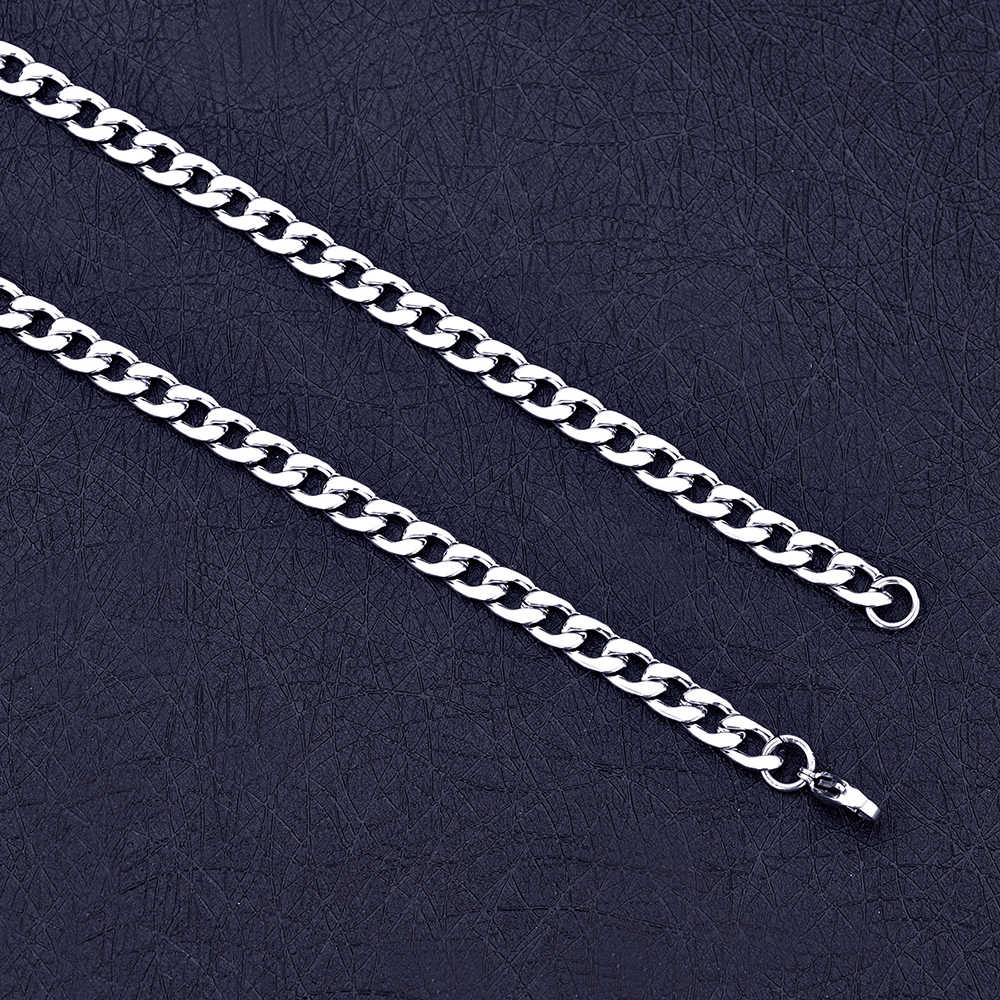 Wholesale cheap 4MM stainless steel NK Figaro chain necklace Length 50-70CM Fashion men's party jewelry Father Brothers gift