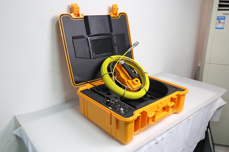 HTB19OOVSpXXXXaLaXXXq6xXFXXXR - 9inch Pipe Sewer drain underground plumbing Inspection Camera auto self balancing 23mm camera head DVR self level