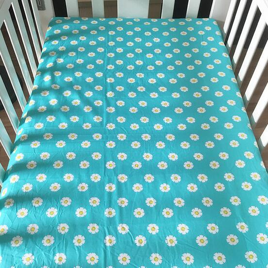 115cm150cm Newborn Baby Bed Sheet Kid Super Soft Crib Sheet Baby Cotton Blanket Big Size ISN Recommend