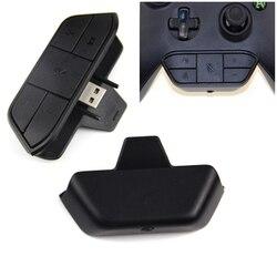 Konwerter słuchawek auto adaptery do konsoli Xbox One Stereo adapter słuchawkowy kontroler dla microsoft Xbox jeden bezprzewodowy pad do gier