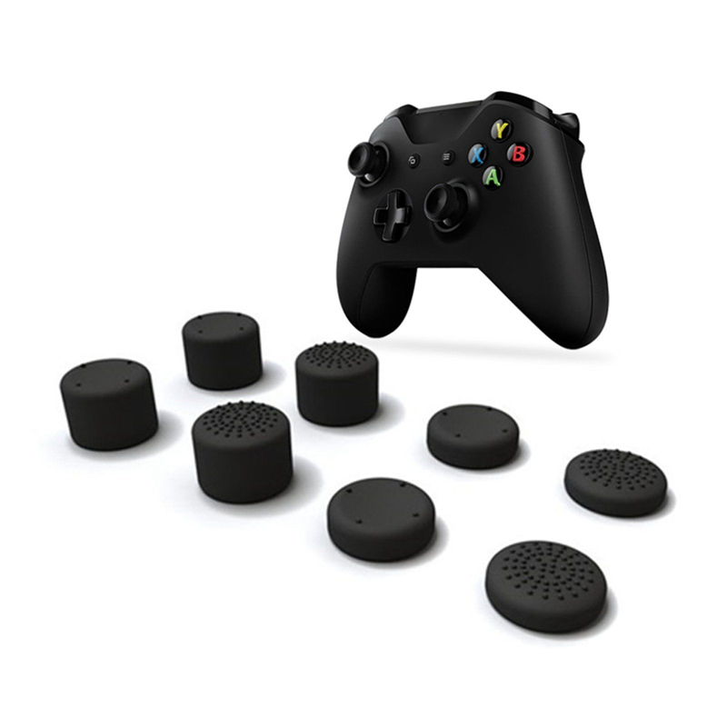 8PCS Joystick Cap Analog Thumb Stick Mushroom Head Cover Cap For Xbox One X Controller Gamepad