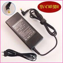 Für acer aspire 4745g 4920g 4930g 5520g 5541g 5542g 5740g 19 v 4.74a laptop ac adapter ladegerät netzkabel