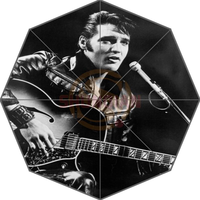 Elvis Presley Kustom Payung Desain Fashion Payung Untuk Pria Dan Wanita Kualitas Tinggi Gratis Pengiriman Hot Sale T # - f92ml