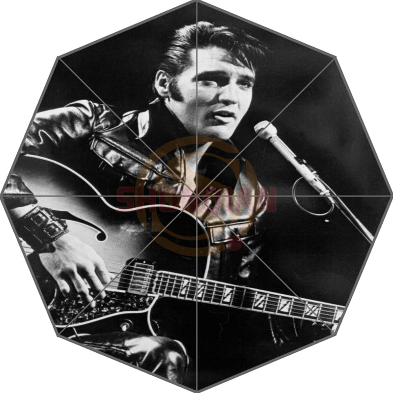 Elvis Presley Custom Paraplu Fashion Design Paraplu voor mannen en vrouwen Hoge kwaliteit Gratis verzending Hot Sale T # - f92ml