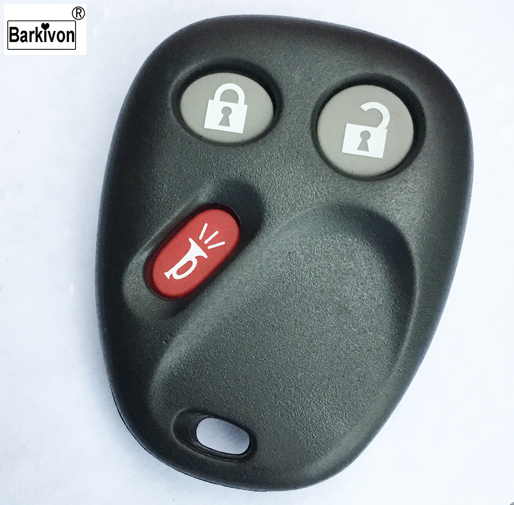Barkivon 3 Buttons Plastic Auto Car Key Shell With Battery Position