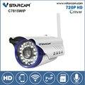 Vstarcam C7815WIP WIFI HD 720 P 1MP Câmera IP Infravermelho Bala Impermeável Ao Ar Livre Segurança Onvif Suporte de Câmera Sem Fio 128G cartão