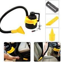 Dc12v alta power arandela del coche mojado y seco aspiradora de mano portable del coche mini aspirador de polvo
