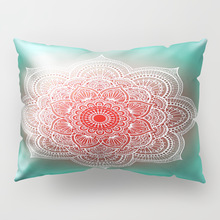 Simple and Fresh Mandala Pattern Long Hug Pillowcase Middle Eastern Indian Cushion Cover Bar Decoration Accessories