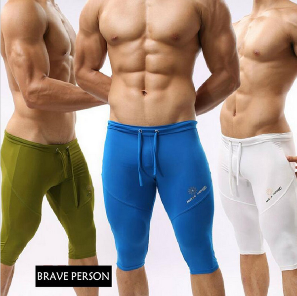55397cb4f4 Mens Swim Shorts swimming trunks 2016 Swimwear Low Waist Briefs Sportswear  Fitness For Men Running Tights Swimsuits for boys