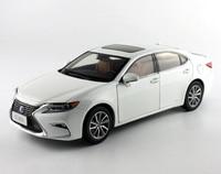 1:18 Aleación Diecast Modelo para Lexus es 300 h Blanco Colección de Coches de Juguete Regalos ES300 ES300h