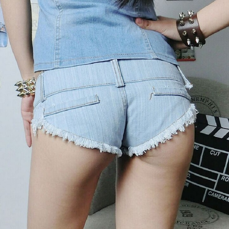Aliexpress.com : Buy 2016 Summer Style Women Denim Shorts Sexy Low ...